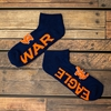 War Eagle No Show Socks