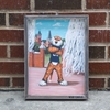 Aubie At Toomers Framed Canvas