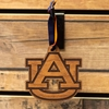 AU Wooden Die-Cut Ornament