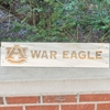 AU War Eagle Wooden Sign