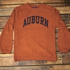 Auburn Arch Corded Orange Fleece Sweatshirt