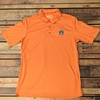 AU Heathered Orange Drake Polo