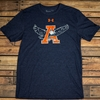 Auburn Eagle Thru A Under Armour Tee
