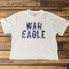 War Eagle Tie Dye Letter Crop Top