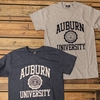 Auburn University with Seal Screenprint Tee