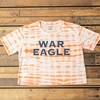 War Eagle Tie Dye Copperplate Crop Top