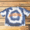 Aburn Arch Navy Tie Dye Crop Top