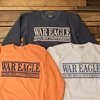 War Eagle Comfort Colors Bar Design Sweatshirt