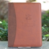 Harbert College of Business Two-Tone Brown Padfolio