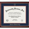 Petite Mahogany Diploma Frame with Embossed Seal