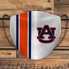 AU Helmet Stripe Face Mask