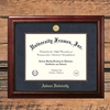 Executive Gold Medallion Wood Inset