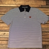 Cutter & Buck Navy Striped Polo