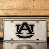 AU Pewter License Tag