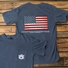 AU American Flag Comfort Colors Tee