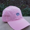 AU Interlock Unstructured Relaxed Twill Cap, Pink