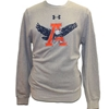 Sweatshirt Under Armour Large Eagle Though A Tiger Vault Logo Triblend Fleece Crew