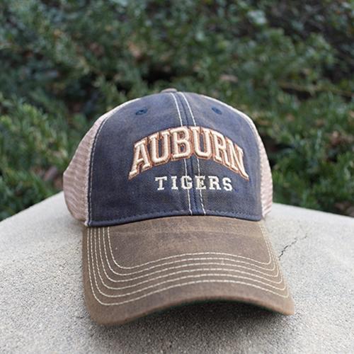 Brown Bill Auburn Tigers Cap
