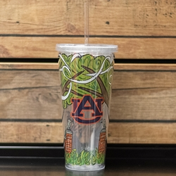 Toomer's Corner Tumbler with Lid and Straw