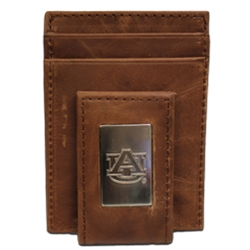 Leather AU Money Clip Wallet