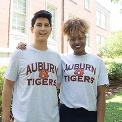 Auburn Arch, AU, Tigers Russell Athletic Tee