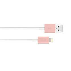 Moshi USB Cable with Lightning Connector, Rose