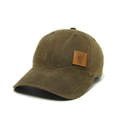 Leather Pater Waxed Cotton Cap