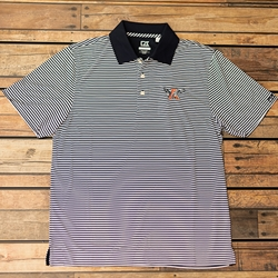 Eagle Through A Drytech Trevor Stripe Polo