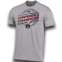 Tshirt Ua 2018 Sec Mens Basketball Conference Champions Under Armour Tee Small Grey