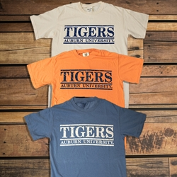 Tigers Terra Cotta Bar Design Tee