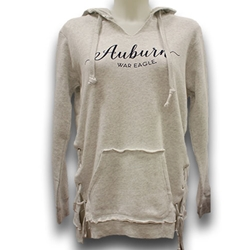 Ladies Side Tie Pullover Sweatshirt
