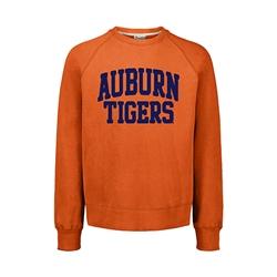Vintage Auburn Tigers Jersey Sweatshirt Small Orange