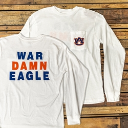War Damn Eagle Long Sleeve Tee