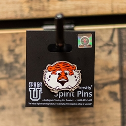 Aubie Head Lapel Pin