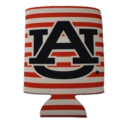AU State Striped Can Coozie