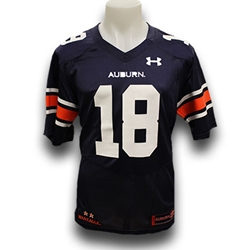 huge selection of 9909b b0d34 #18 Under Armour Replica Men's Football Jersey Small Navy