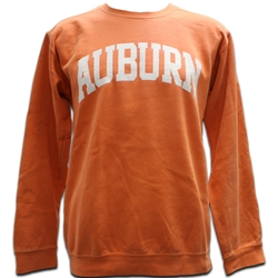 Comfort Colors Burnt Orange Auburn Arch Sweatshirt