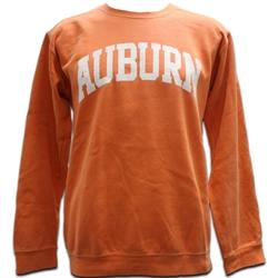 de9249ef4a64 AU Bookstore - Comfort Colors Burnt Orange Auburn Arch Sweatshirt