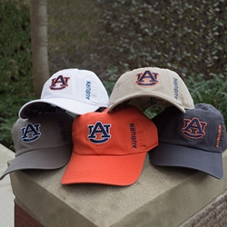 AU Interlock Vertical Auburn Cap