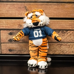 Plush Aubie in Jersey
