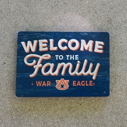 Auburn Welcome to the Family Magnet