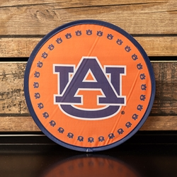 Auburn Folding Fan with Pouch