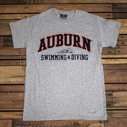 Auburn Swimming & Diving Tee
