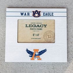 War Eagle, Eagle Through A Photo Frame