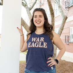 AU Ladies Tank War Eagle