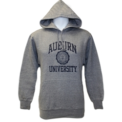 Hoodie Auburn Seal University Screenprint