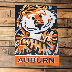 Aubie Two-sided Garden Flag