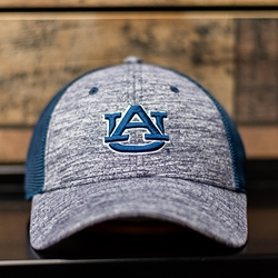 AU 3D Heather Blue Athletic Cap
