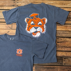 Auburn Comfort Colors Beanie Head Tee