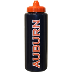 Water Bottle AU Auburn Orange Cap